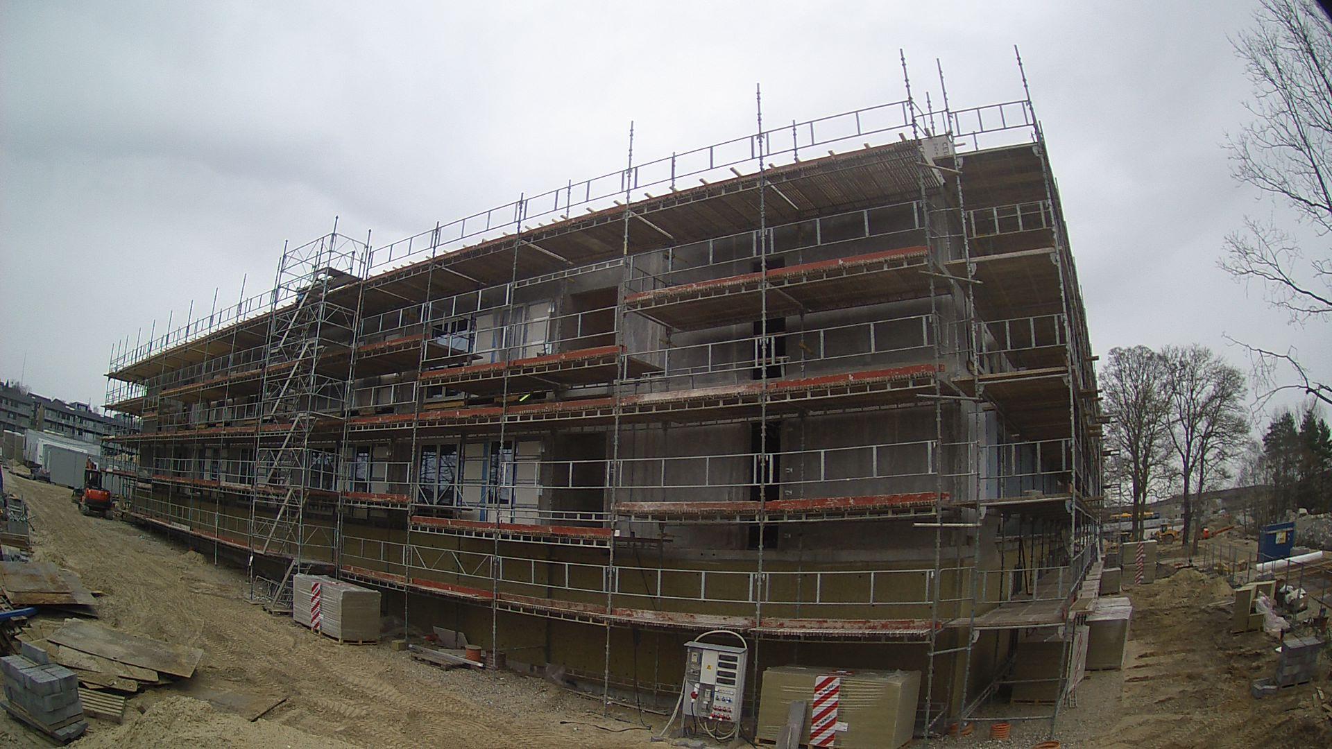 Webcam på byggepladsen